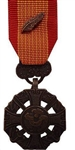 US Military Miniature Medal: Gallantry Cross with Palm