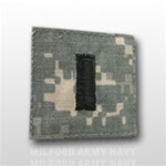 US Army ACU Rank with Hook Closure:  O-2 First Lieutenant (1LT)