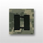 US Army ACU Cap Device, Sew-On:  O-3 Captain (CPT)