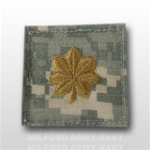 US Army ACU Rank with Hook Closure:  O-4 Major (MAJ)
