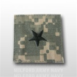 US Army ACU Rank with Hook Closure:  O-7 Brigadier General (BG)