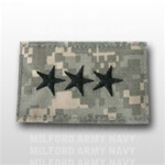 US Army ACU Rank with Hook Closure:  O-9 Lieutenant General (LTG)