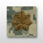 US Army ACU Cap Device, Sew-On:  O-4 Major (MAJ)