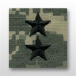 US Army ACU Cap Device, Sew-On:  O-8 Major General (MG)