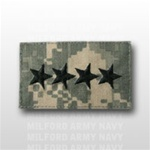 US Army ACU Rank with Hook Closure: O-10 General (GEN)
