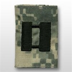 US Army ACU GoreTex Jacket Tab:  O-3 Captain (CPT)