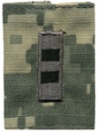 US Army ACU GoreTex Jacket Tab: W-2 Chief Warrant Officer Two (CW2)