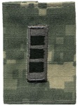 US Army ACU GoreTex Jacket Tab: W-3 Chief Warrant Officer Three (CW3)