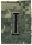 US Army ACU GoreTex Jacket Tab: W-5 Chief Warrant Officer Five (CW5)