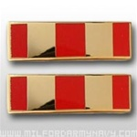 USMC Officer Coat Insignia: W-2 Chief Warrant Officer Two (CWO-2) - Gold Mirror Finish