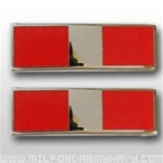 USMC Officer Coat Insignia: W-3 Chief Warrant Officer Three (CWO-3) - Gold Mirror Finish