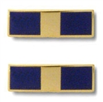 "US Navy Coat Device: Warrant Officer One - 1"" x 5/16"""