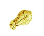 "Attachment: Gold Oak Leaf Cluster - 5/16"" - For Ribbon or Full Size Medal"