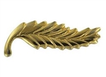 "Attachment: Gold Palm -  3/8"" - For Mini Medal"