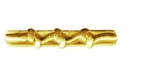 Attachment: Gold - 3 Knots - For Mini Medal - Good Conduct - Army