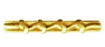 Attachment: Gold - 4 Knots - For Mini Medal - Good Conduct - Army
