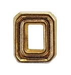Attachment: Flight Numeral - Gold Finish #0 - For Ribbon, Full Size Medal or Mini Medal
