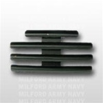 "Ribbon Mount: 11 Ribbons - Metal - 1/8"" Space - Black Finish - Rows of 3 - for Army"