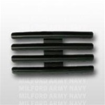 "Ribbon Mount: 12 Ribbons - Metal - 1/8"" Space - Black Finish - Rows of 3 - for Army"