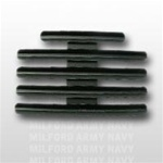 "Ribbon Mount: 14 Ribbons - Metal - 1/8"" Space - Black Finish - Rows of 3 - for Army"