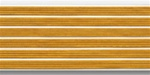 US Army Service Stripes For Male White Uniform:  6 Stripes