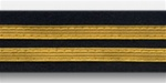 US Army Service Stripes For Male Blue Uniform:  2 Stripes