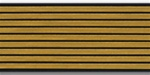US Army Service Stripes For Male Blue Uniform:  9 Stripes