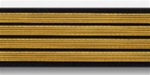 US Army Service Stripes For Female Blue Uniform: 4 Stripes