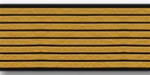 US Army Service Stripes For Female Blue Uniform: 8 Stripes