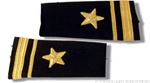 US Navy Line Officer Softboards:  O-2 Lieutenant Junior Grade (LTJG)