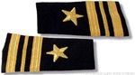 US Navy Line Officer Softboards:  O-4 Lieutenant Commander (LCDR)
