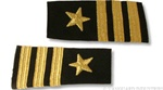 US Navy Line Officer Softboards:  O-5 Commander (CDR)