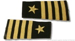 US Navy Line Officer Softboards:  O-6 Captain (CAPT)