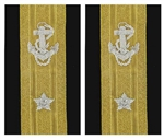 US Navy Line Officer Softboards:  O-7 Rear Admiral Lower Half (RDML)