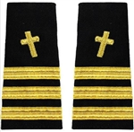 US Navy Staff Officer Softboards: Commander - Chaplain - Christian