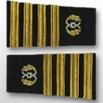 US Navy Staff Officer Softboards: Captain - Judge Advocate General