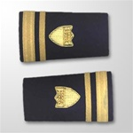 USCG Female Enhanced Shoulder Marks:  O-2 Lieutenant, Junior Grade (LTJG)