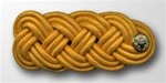 US Army Shoulder Knot for Officer: Female - For Mess Dress - Synthetic Gold Lace