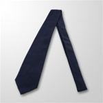 USCG Neckties: Four In Hand - Blue Dacron/Wool