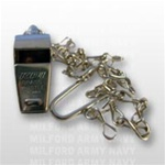US Navy Whistle: Nickel Plated with Chain
