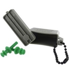 US Army Accessory: Ear Plugs - Small - includes ACU Case with Chain