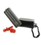 US Army Accessory: Ear Plugs - Medium - includes ACU Case with Chain