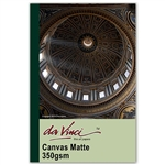 Davinci canvas matte for inkjet printing