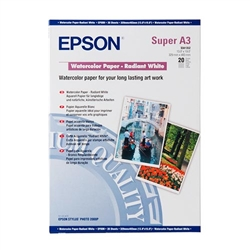 Epson WaterColor Paper Radiant White 190gsm