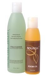 Deep Cleaning Hair and Scalp Kit