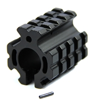 "223/5.56 Low profile Quad Rail Clamp-on Gas Block for .75"" Barrel"