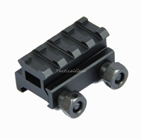 "1 QTY - 3/4"" 4 Slot Medium Riser 20mm WEAVER PICATINNY Base/Scope Mount Rail"