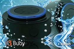 K3 Buoy Bluetooth Wireless Waterproof speaker with built-in hands free microphone, marine grade speaker, outdoor  speaker, camping speaker, rugged  speaker, K3 Buoy portable speaker, k3 waterproof bag, K3 waterproof bags,