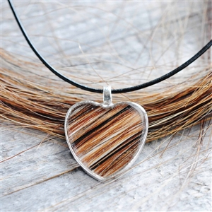Horse Hair Memorial Necklace