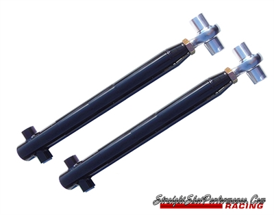 Straight Shot Performance Solid Bushing single Adjustable Lower Control Arms (79-04 Mustang)